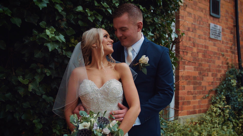 """Danielle & Jack - """"I can't thank you enough! We are so blown away by it! It's absolutely brilliant we will treasure it forever…I honestly love it all I can't stop watching it.  You are extremely talented!!!…I am so pleased we chose you and I will be recommending you to anyone I know getting married!  Thank you so much!"""""""