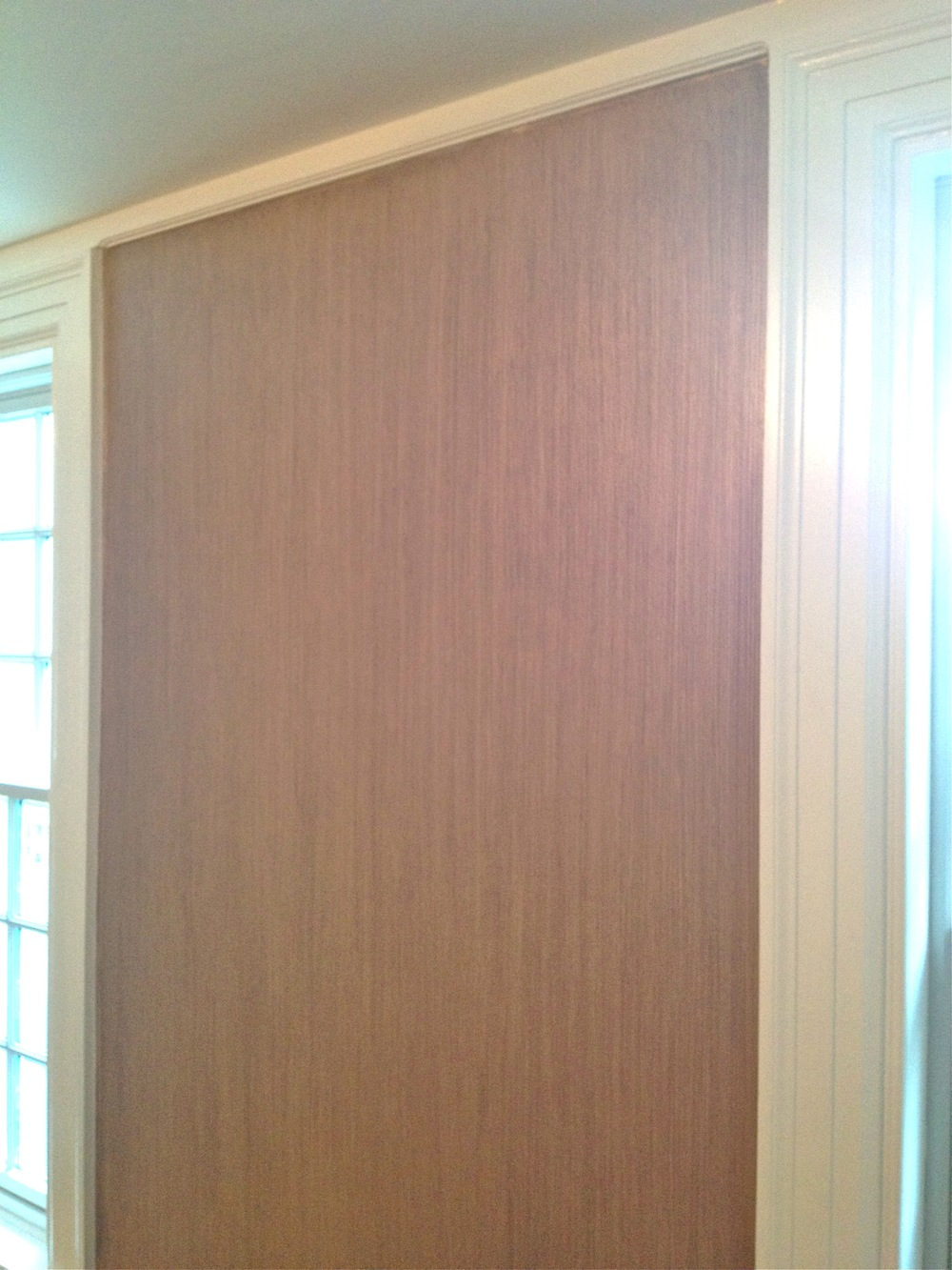 Study- wall finish detail