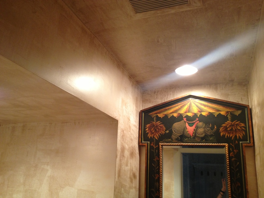Powder room - details