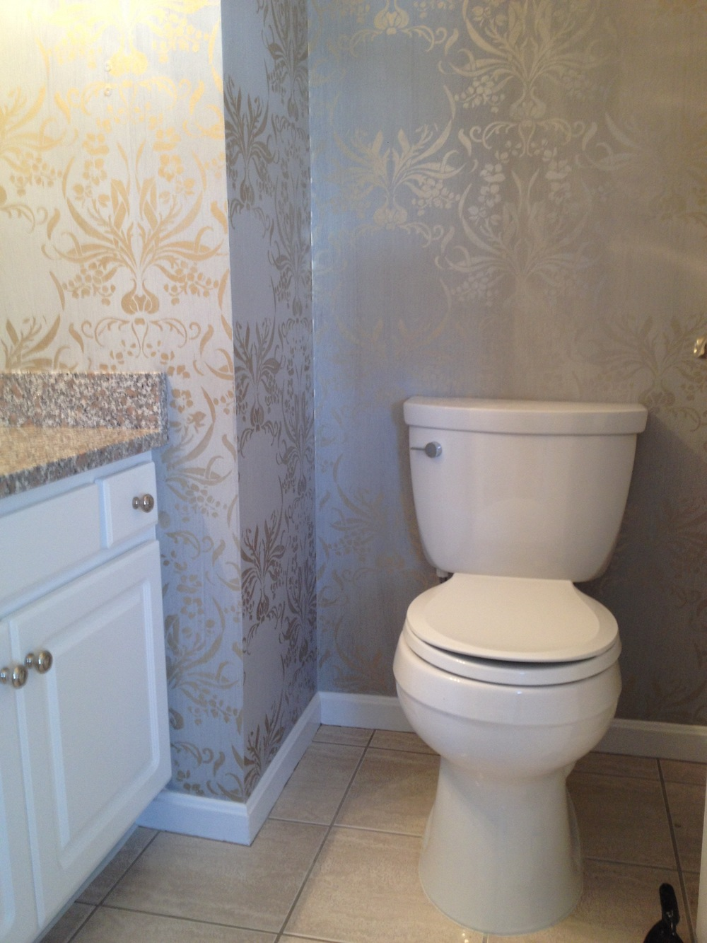 Powder room - another view