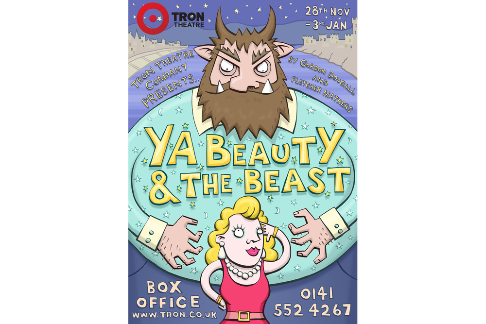'Ya Beauty' Theatre Poster