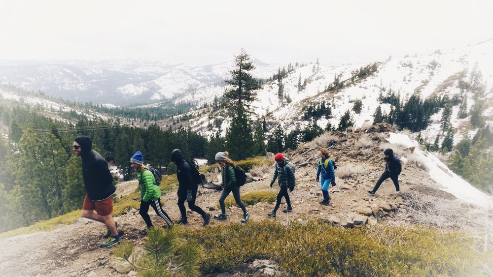 Johnson Canyon Trail Running