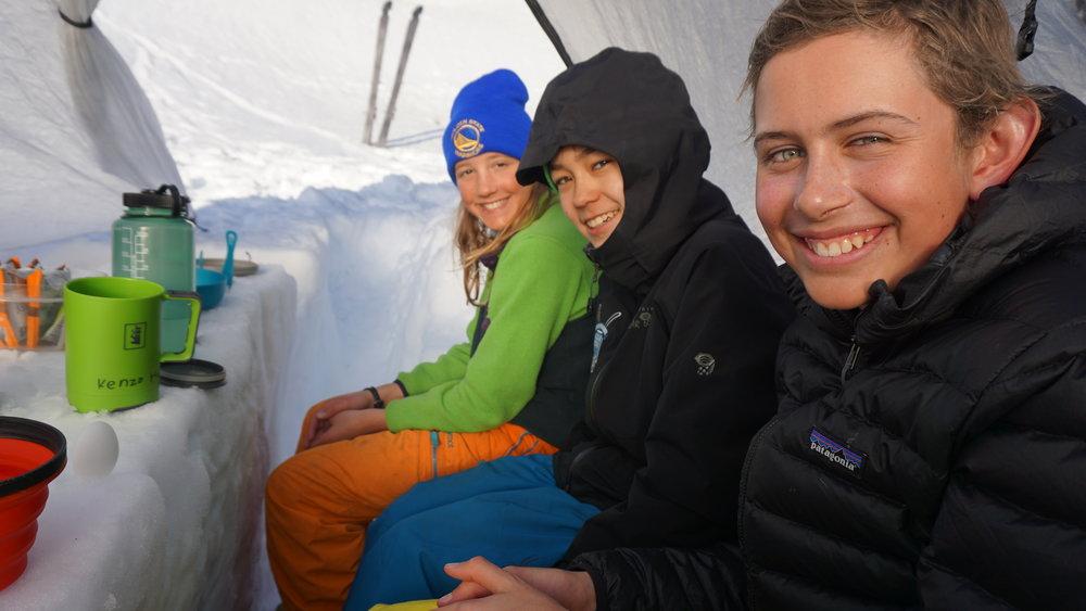 Alex, Kenzo, and Bryce