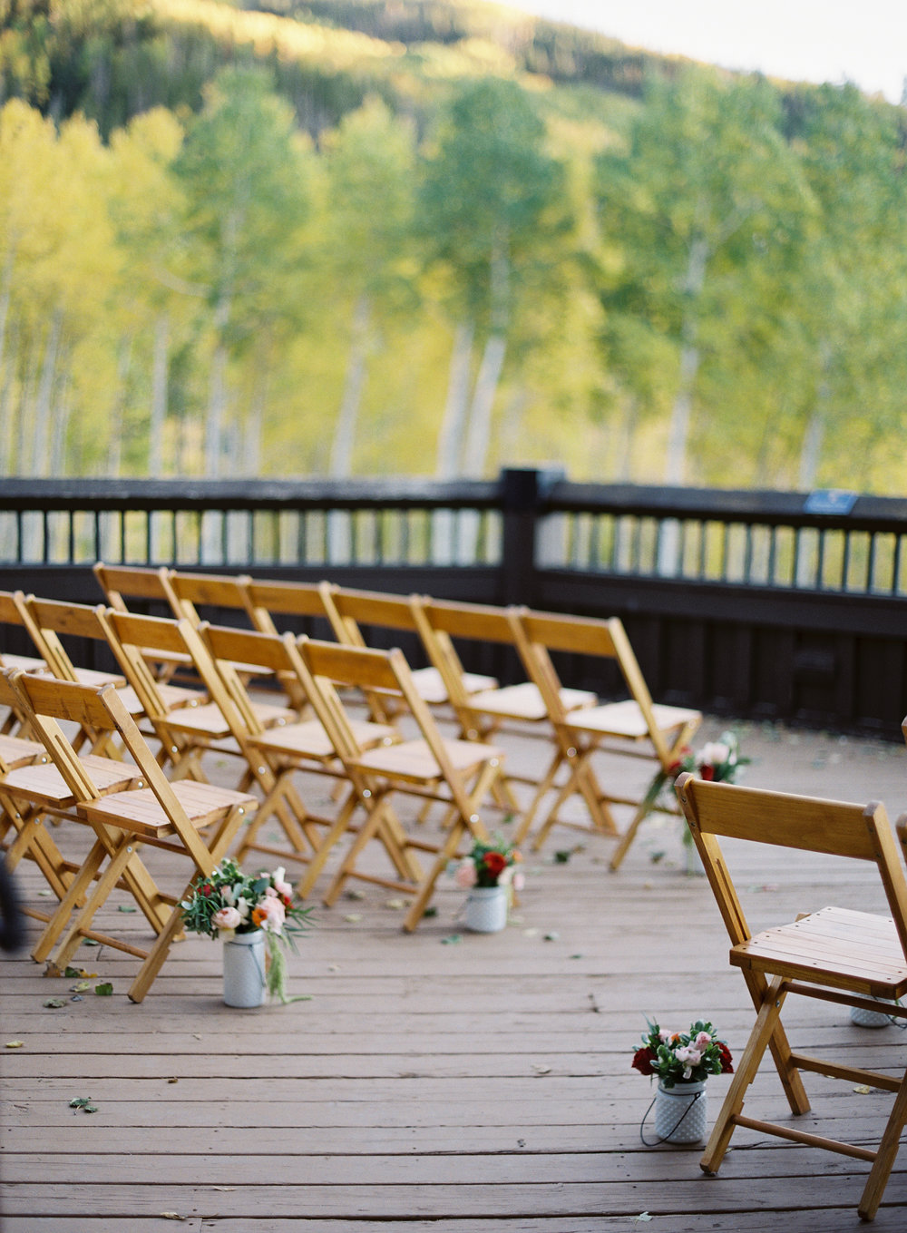 Intimate Luxury Mountain Wedding
