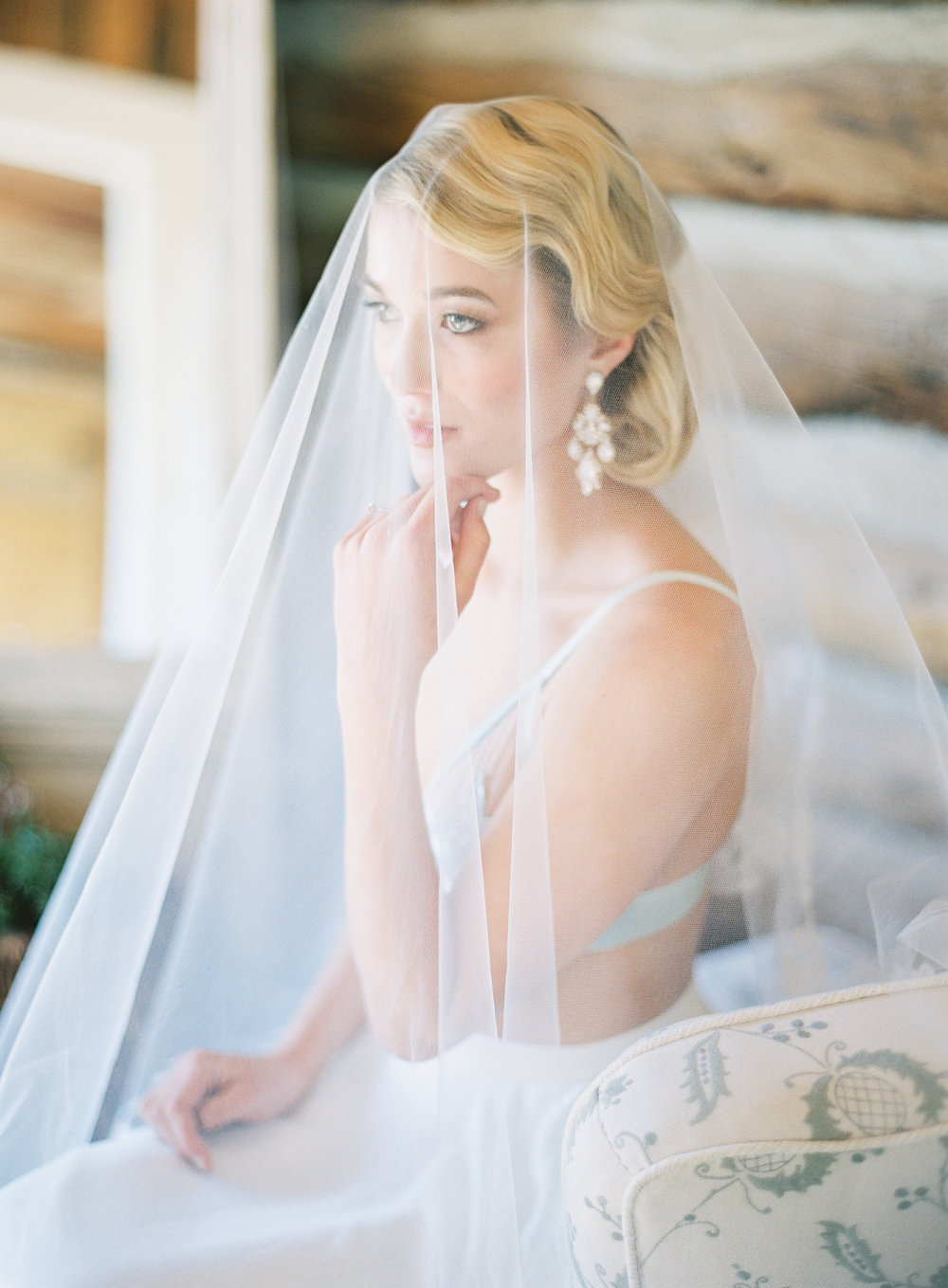 Wild Canyon Ranch Wedding | Berta Bridal | Vintage Bride