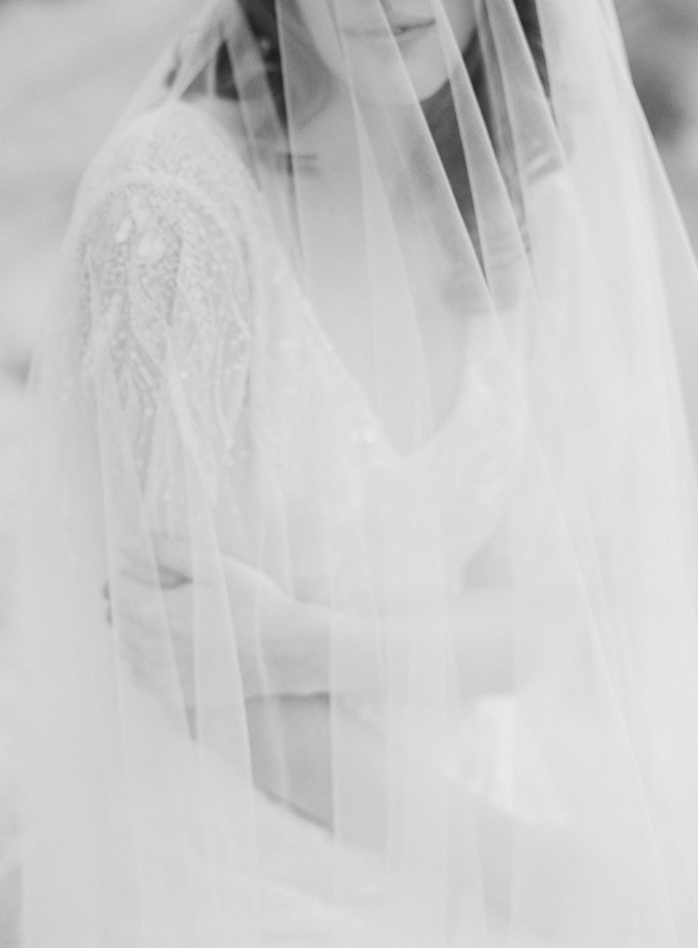 Colorado winter bride