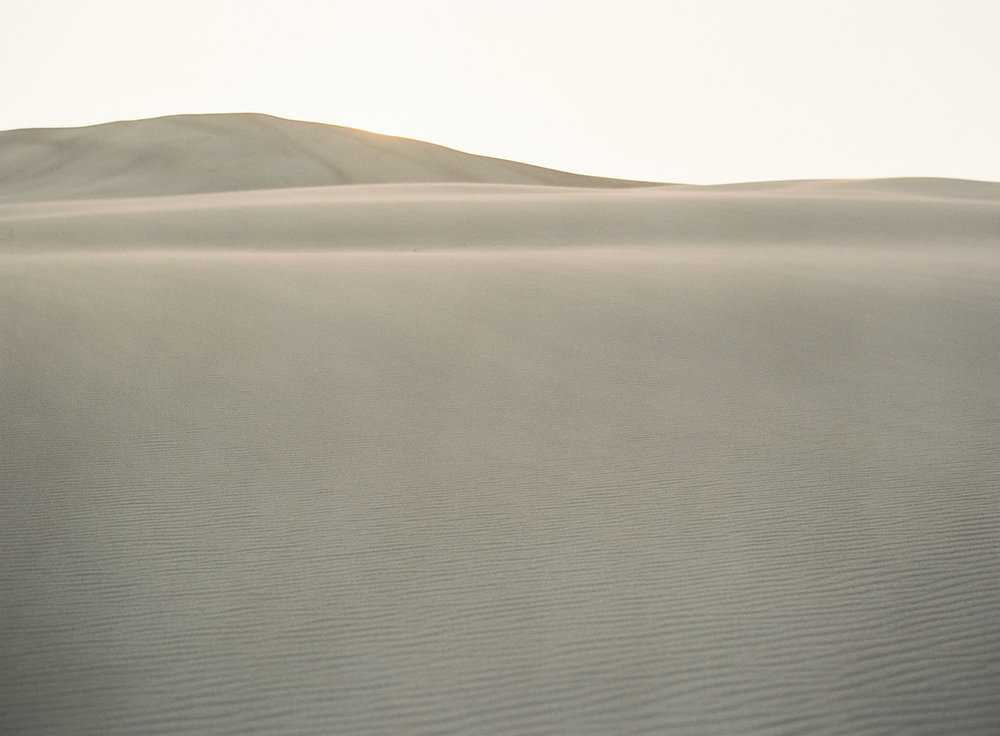 beautiful colorado sand dunes on film
