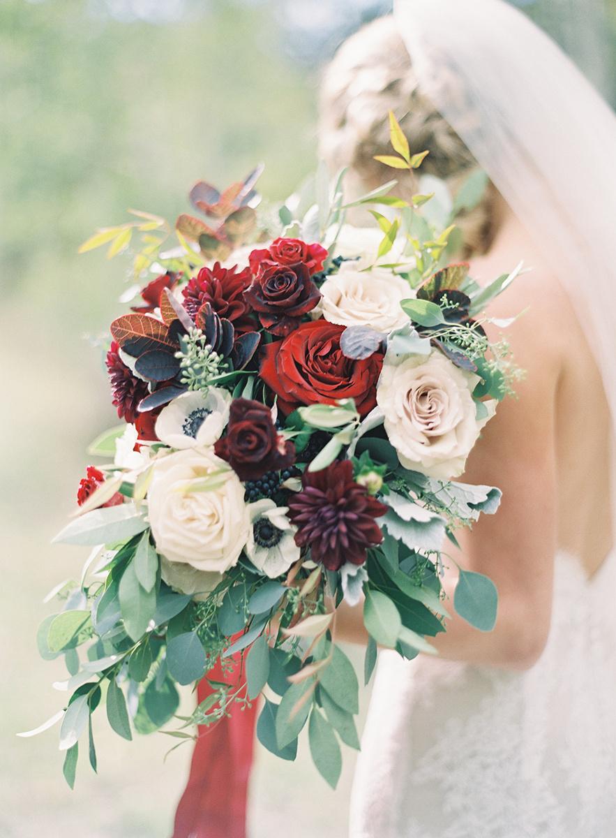 lovely colorado bride on film