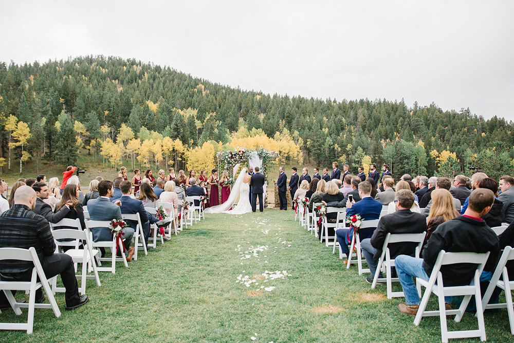 Wild Canyon Ranch Wedding Ceremony on Film
