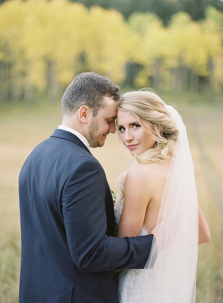 Colorado Bride and Groom on Film