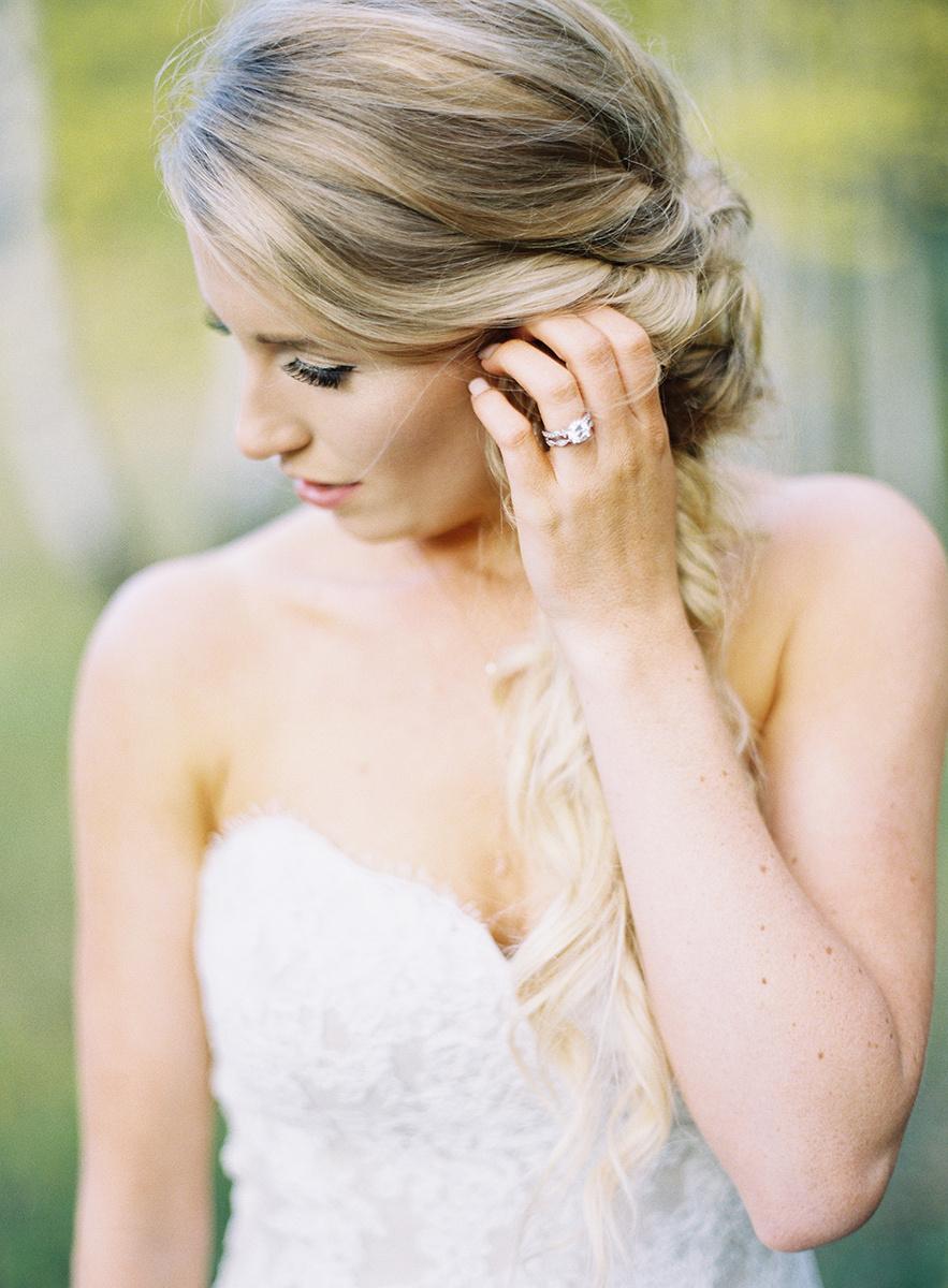 Gorgeous Colorado Bride on Film
