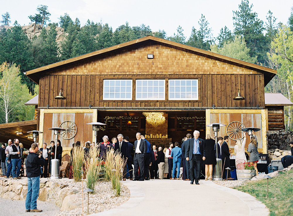 Gorgeous Colorado Wedding Venue on Film
