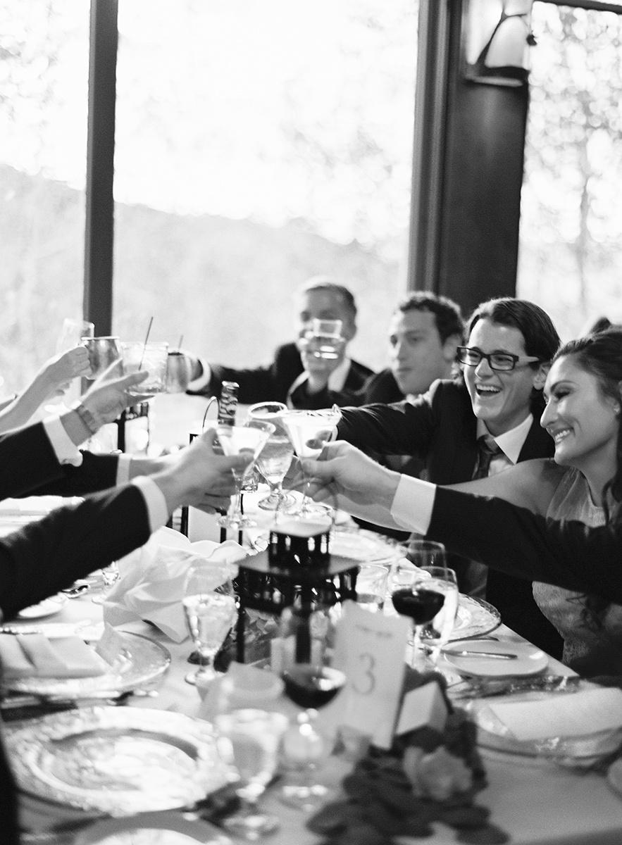 Wedding Toasts on Film