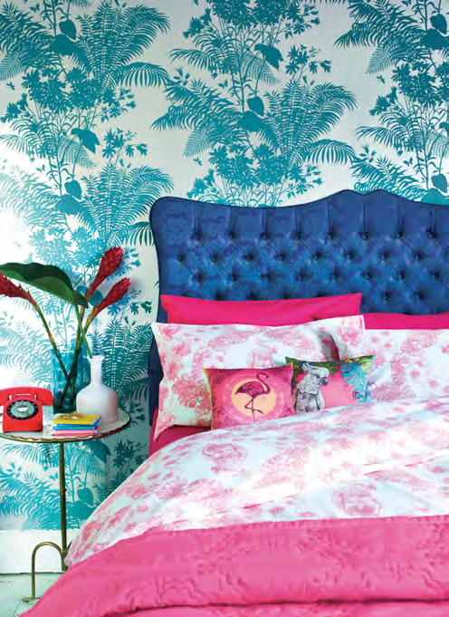 Palm Springs Collection - Cockatoo Bedding