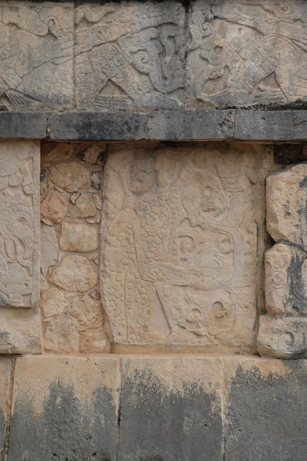 Carving from Chichen Itza