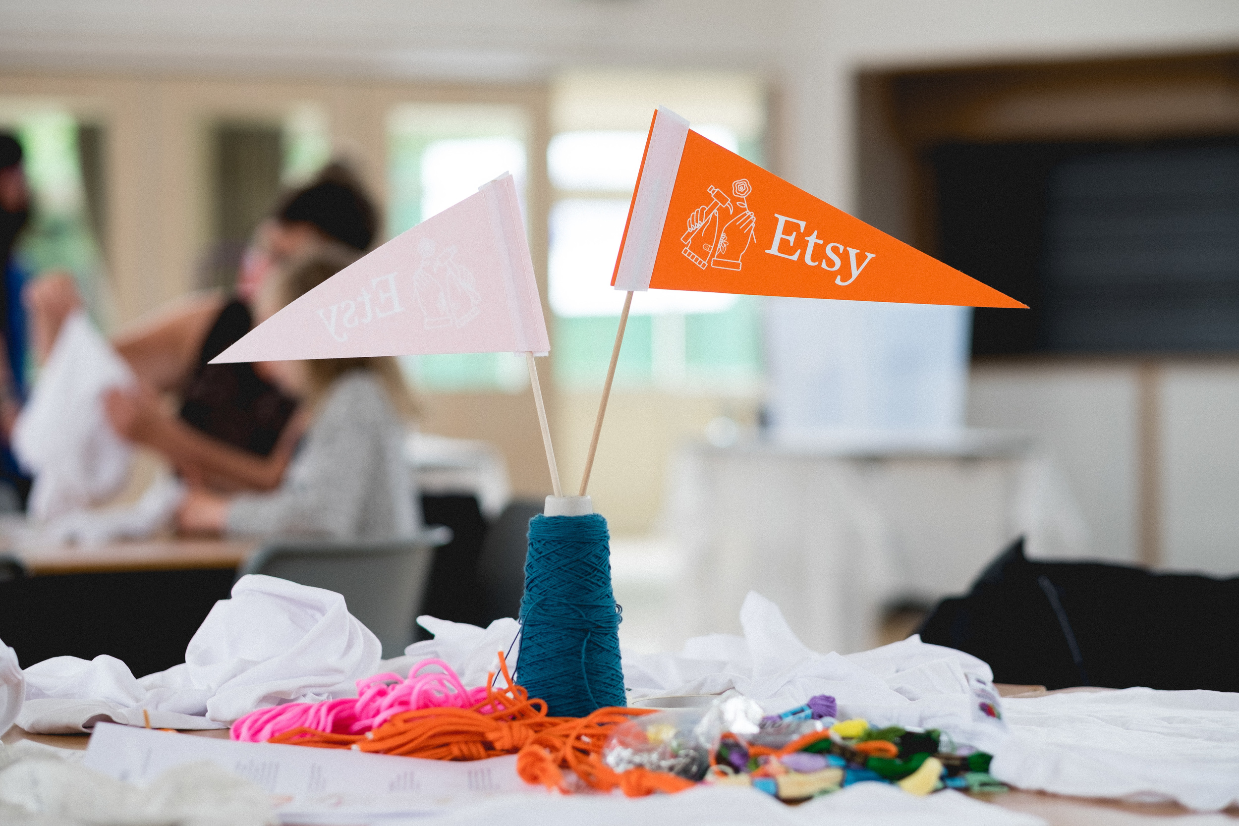 1ef5c7bd844a Last month saw the Nottingham Etsy team's busiest meet up as we hosted a  tie-dye event for the annual Etsy Craft Party!