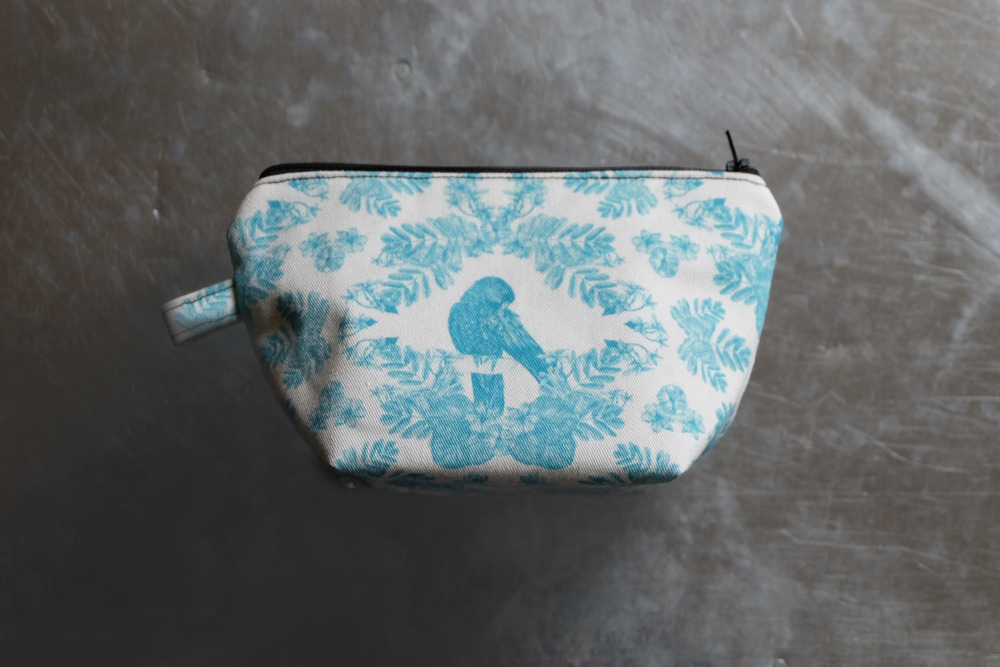 Parrot Small Cosmetic Bag