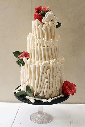 Meringue Bone Cake