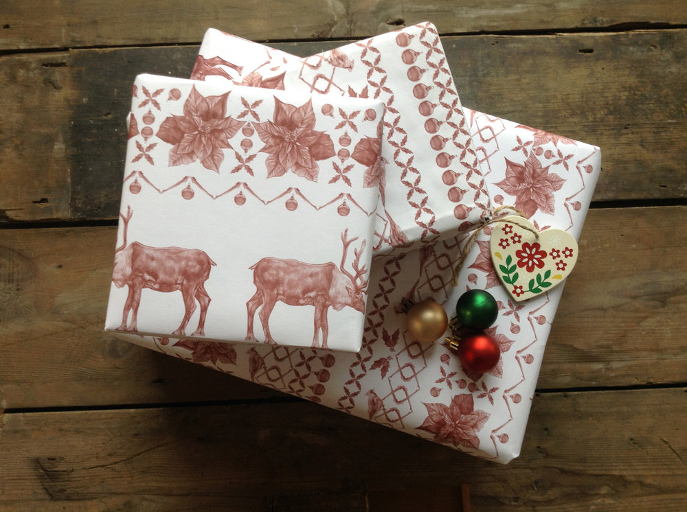 Christmas Jumper Gift Wrap Set