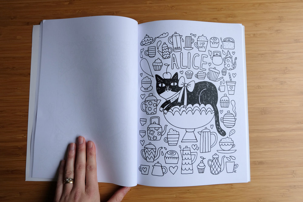 Gemma Correll for Cats In Wonderland