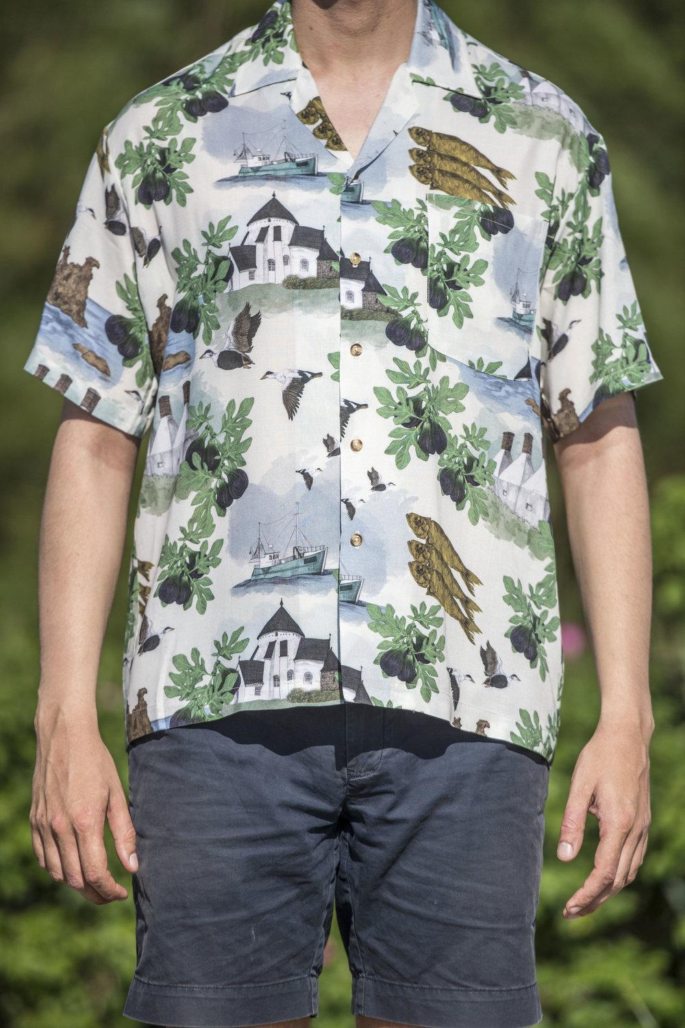 Bornholm Hawaiian Shirts