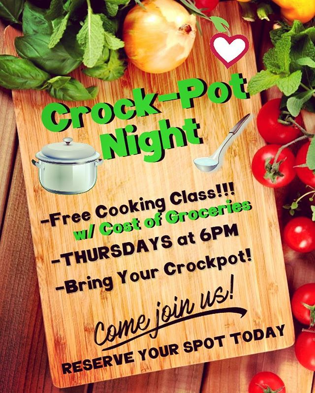 💰20$ Gift Card Give Away!💰 Tag 3 Friends to Enter!😃 Join Us Thursday Night!💁🏻‍♀️ May 3rd @6pm.  Featuring VEGAN SOUP RECIPES😍😛. **Call to Reserve Your Spot Today🤗 (318)254-0764
