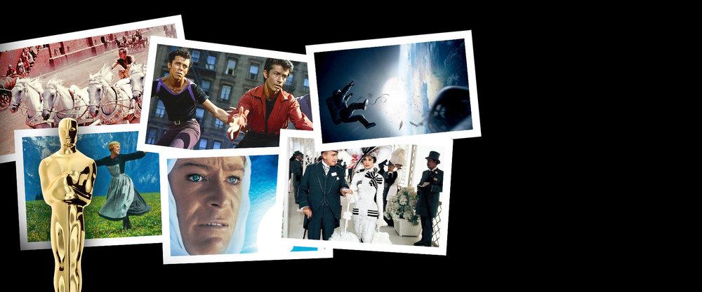6 Films, 48 Oscars