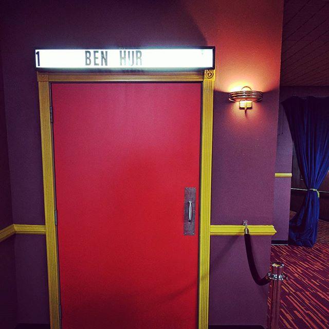 New door,  old film.