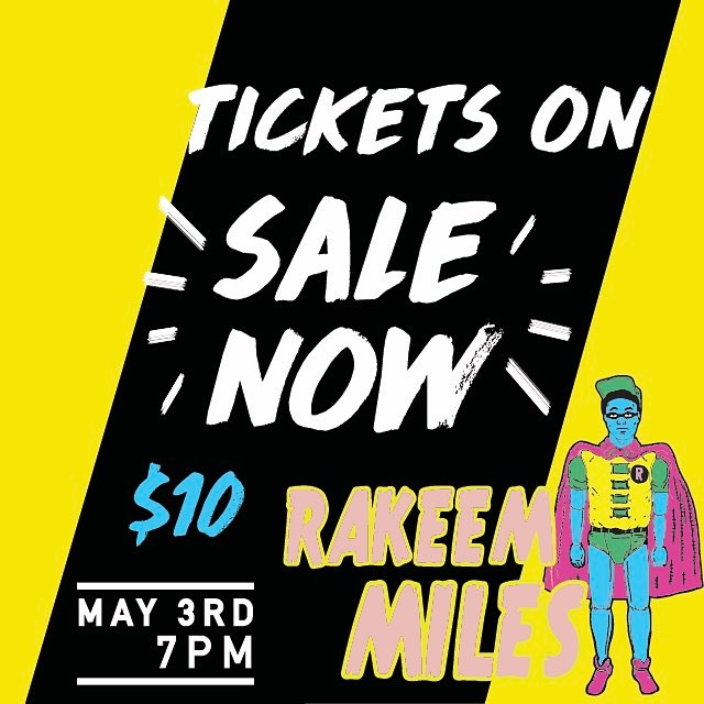 Tickets on SALE now for $10!! This upcoming Wednesday night Hip Hop Wednesdays begin and you don't want to miss it, tickets on sale at the Madison + Tierra Coffee Roasters. We will see you there!