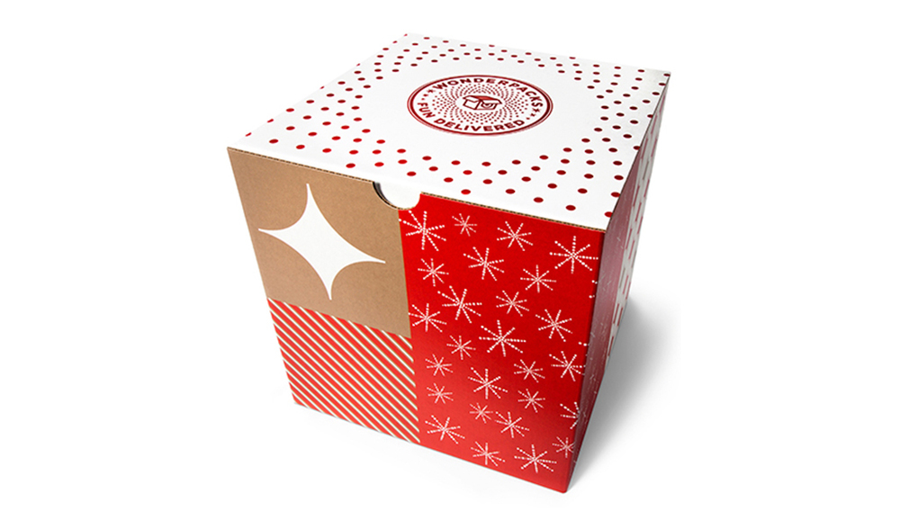 Each Wonderpack box is designed to be easy to gift.
