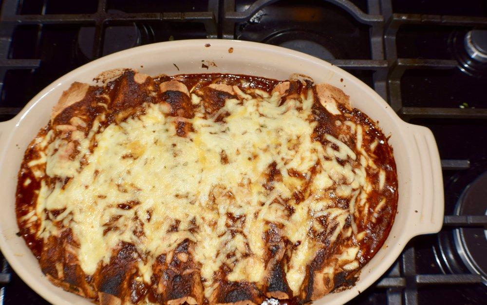 Pulled Pork Enchiladas -
