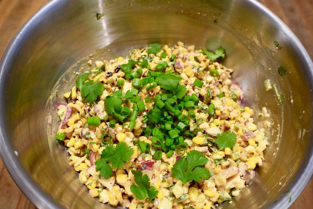 Sweet Corn Salad -