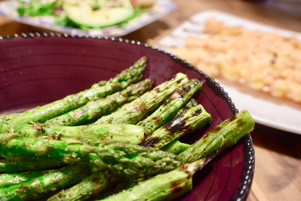 Grilled Asparagus -