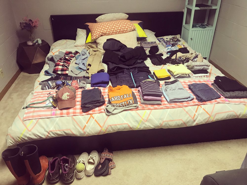 I love to pack... can you tell?!