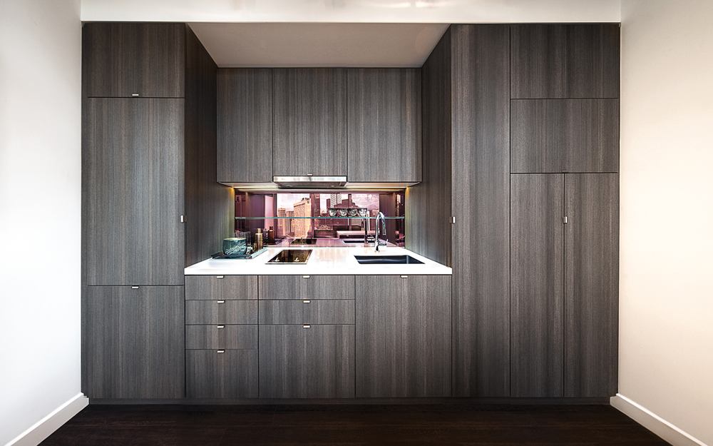 Smart House kitchen  — closed