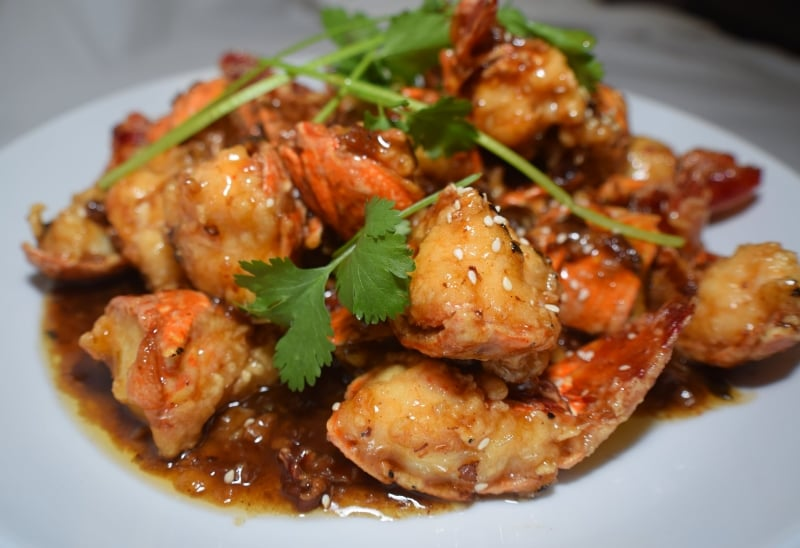 Tamarind lobster   Tom hum xot me