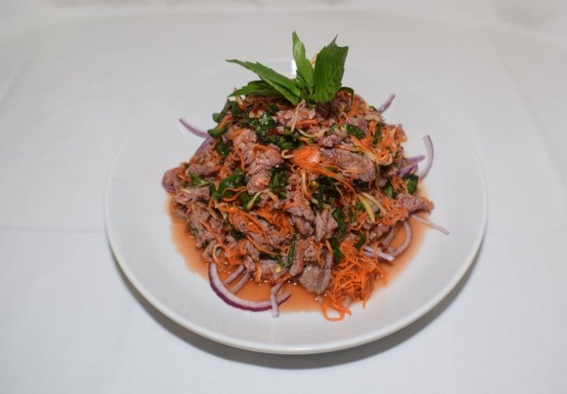 Zander's House beef carpaccio   Bo tai chanh