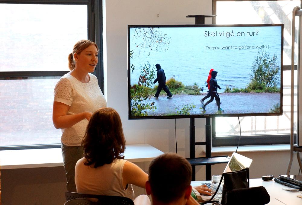 line presenting at Un-School NYC