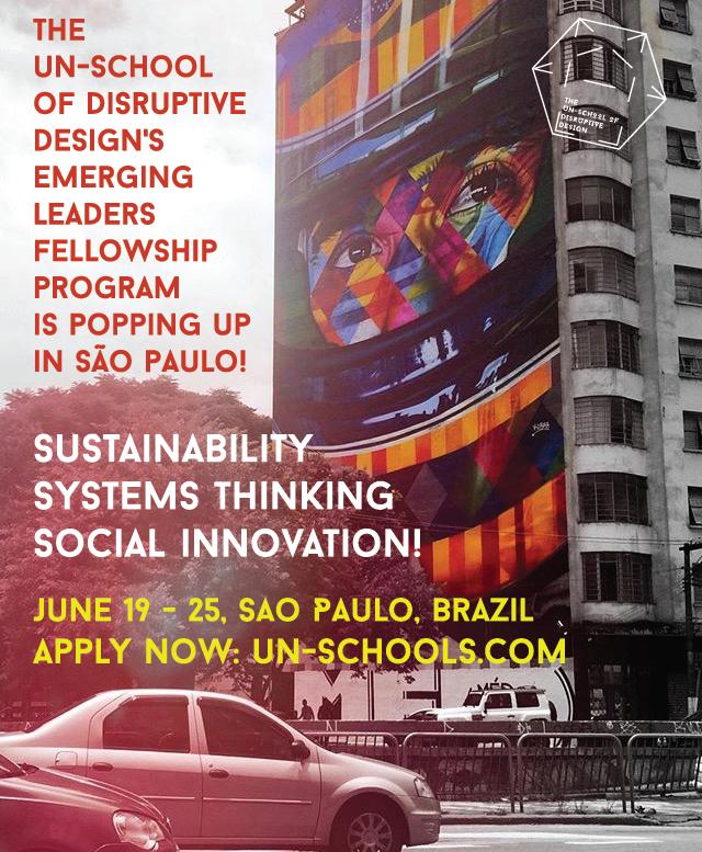 Un-school goes to Sao Paulo