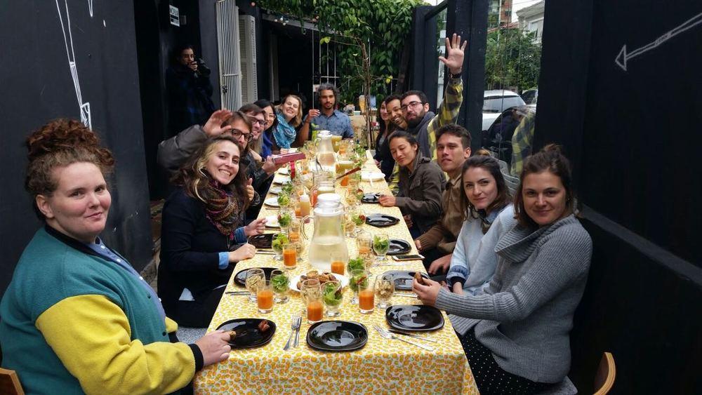 UnSchool São Paulo fellowship, Day 2 Lunch