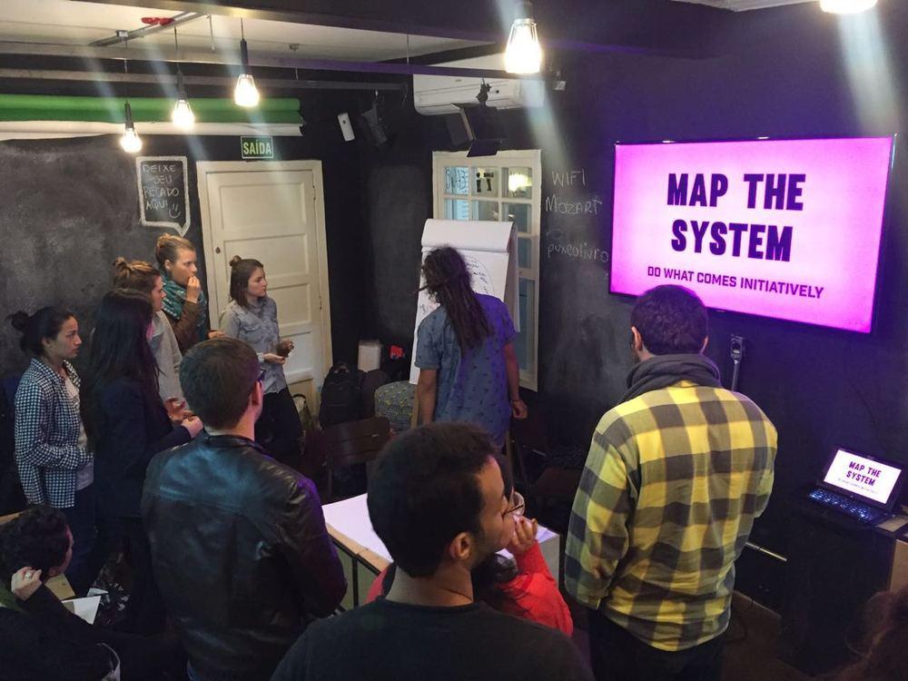 UnSchool São Paulo Fellowship, map the system