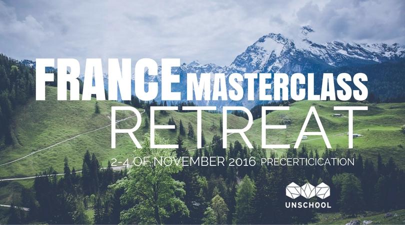 UnSchool France Workshop retreat