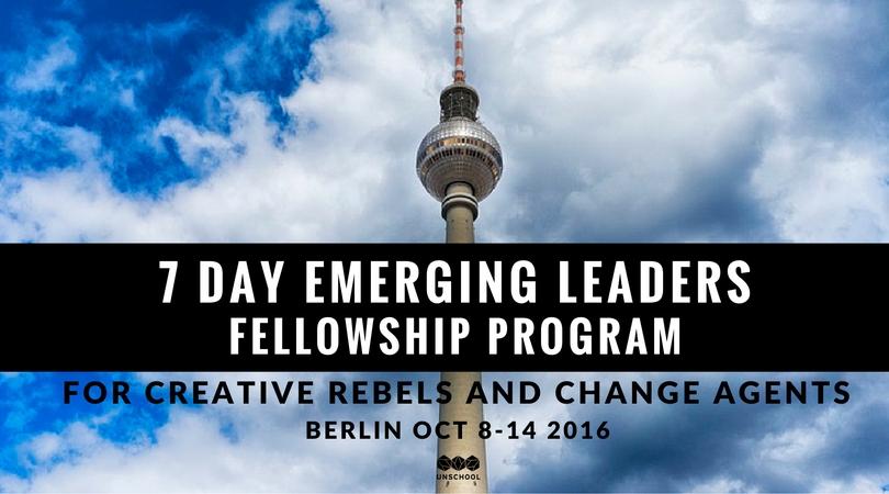 Berlin unschool fellowship oct 2016