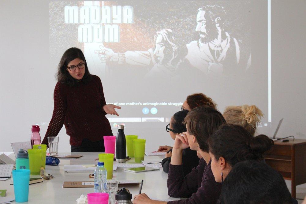 Rym Momtaz, Mentor, Unschool Berlin