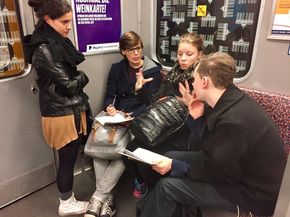 unschool berlin metro work session