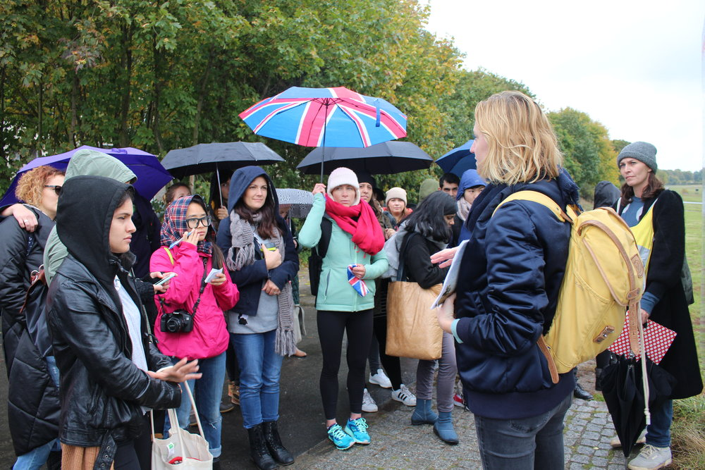 unschool berlin, urban commons tour