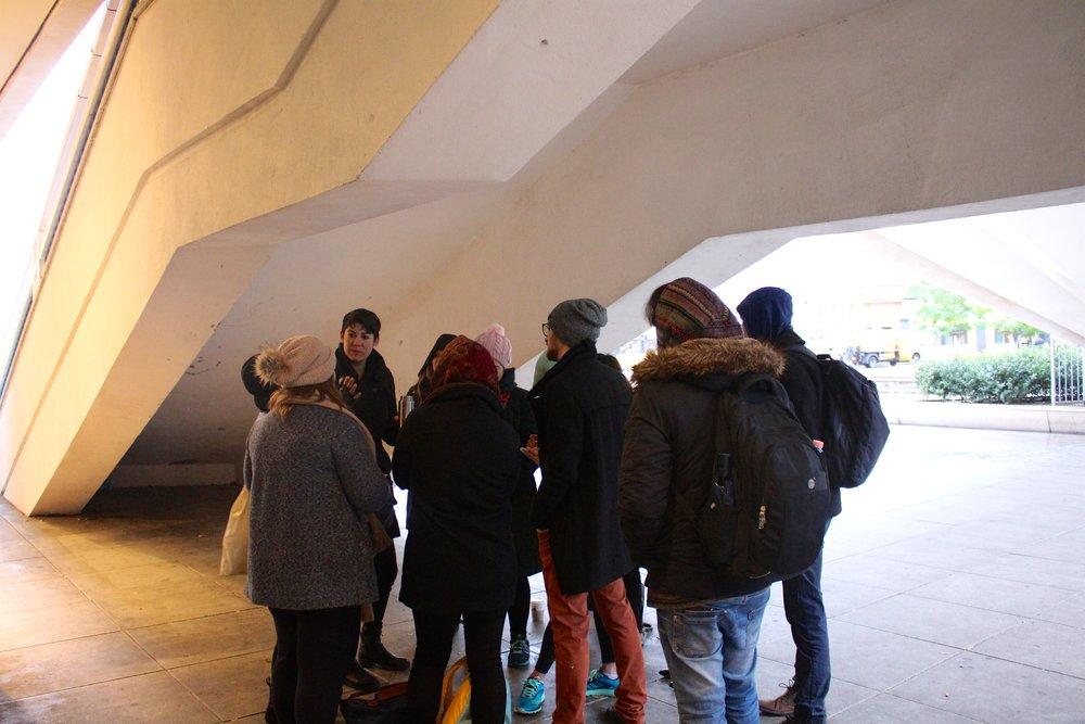 UnSchool Berlin Day 5, exploring Berlin