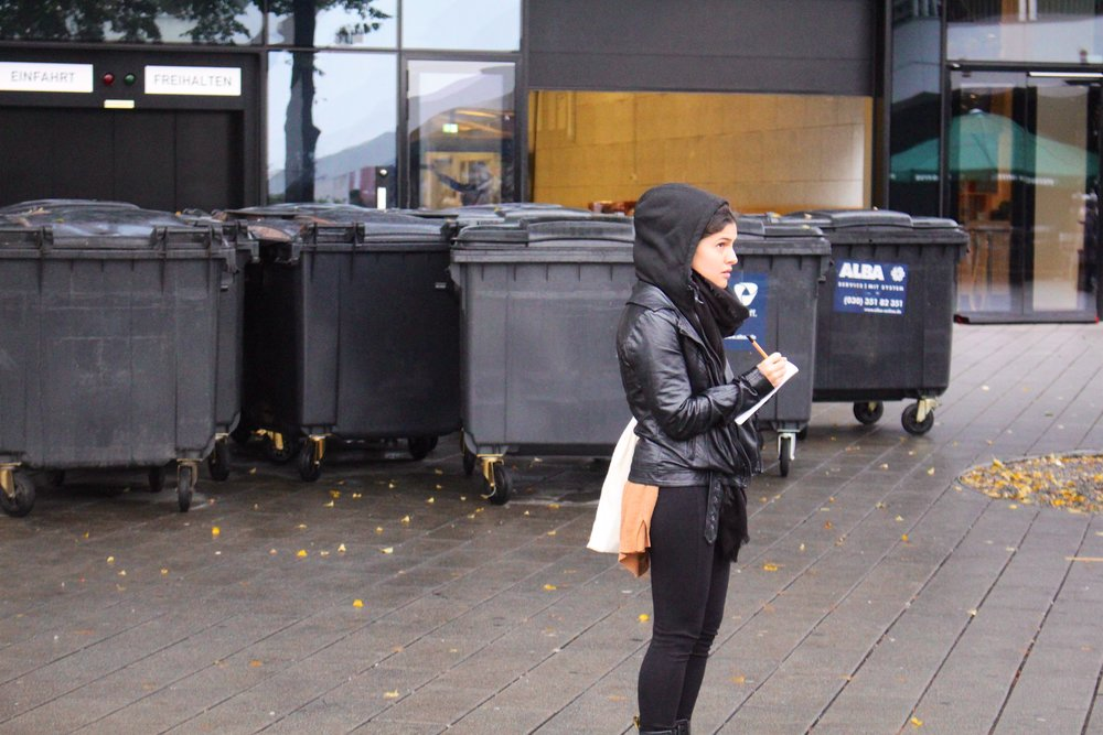 UnSchool Berlin fellow Carla, observational research