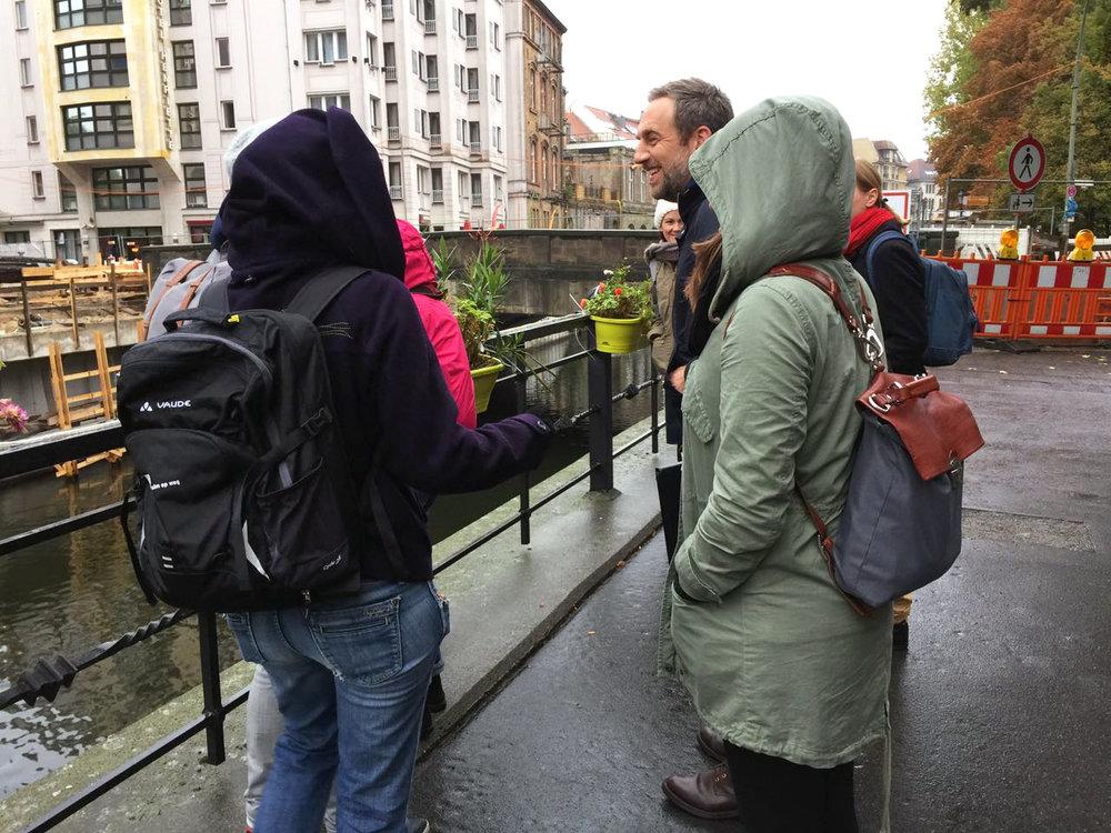 UnSchool Berlin Spree River Flussbad