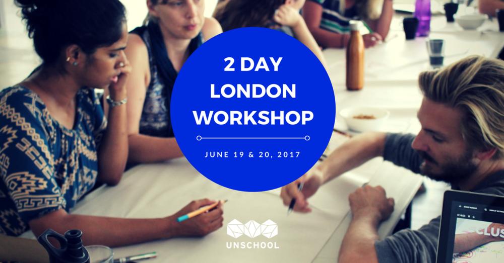 unschool disruptive design workshop london june 2017